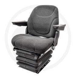 GRANIT Nitron légrugós ülés fekete szövethuzattal
