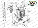 Hidraulikatartály és kapcsolódó alkatrészek